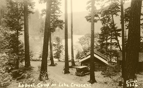 La Poel Camp, Lake Crescent, WA