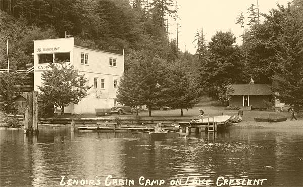 Lenoir's Cabin Camp, Lake Crescent, WA