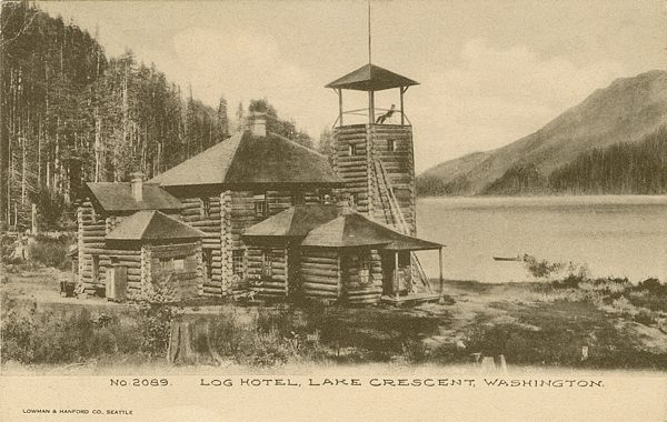 History around lake crescent wa for Old deep house