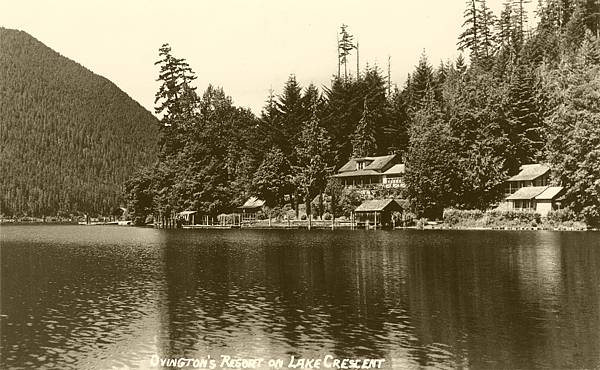 Ovington, Lake Crescent, Clallam County, WA